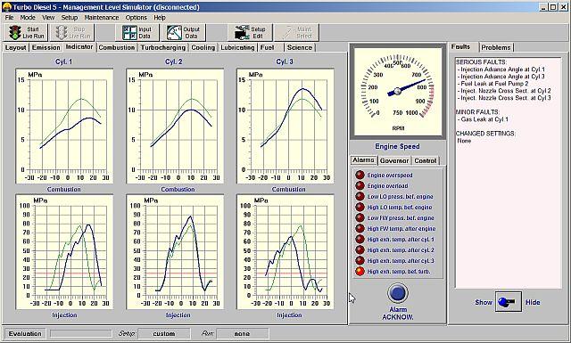 Turbo Diesel 5 Main Screen