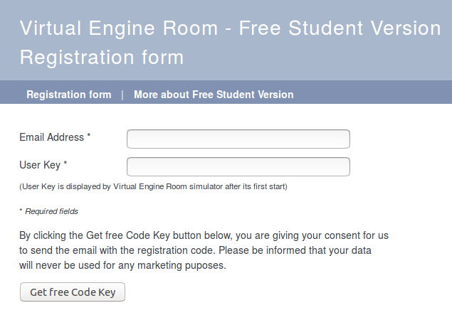 Free Student Version | Engine Room Simulators by Dr  Stefan Kluj