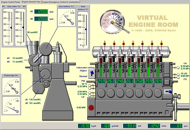 VER 4.8 Main Engine General View