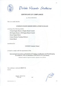 Class Approval Certificate
